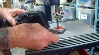 Dremel Multi-Max saw blades may be redeemed by cutting new groves i...