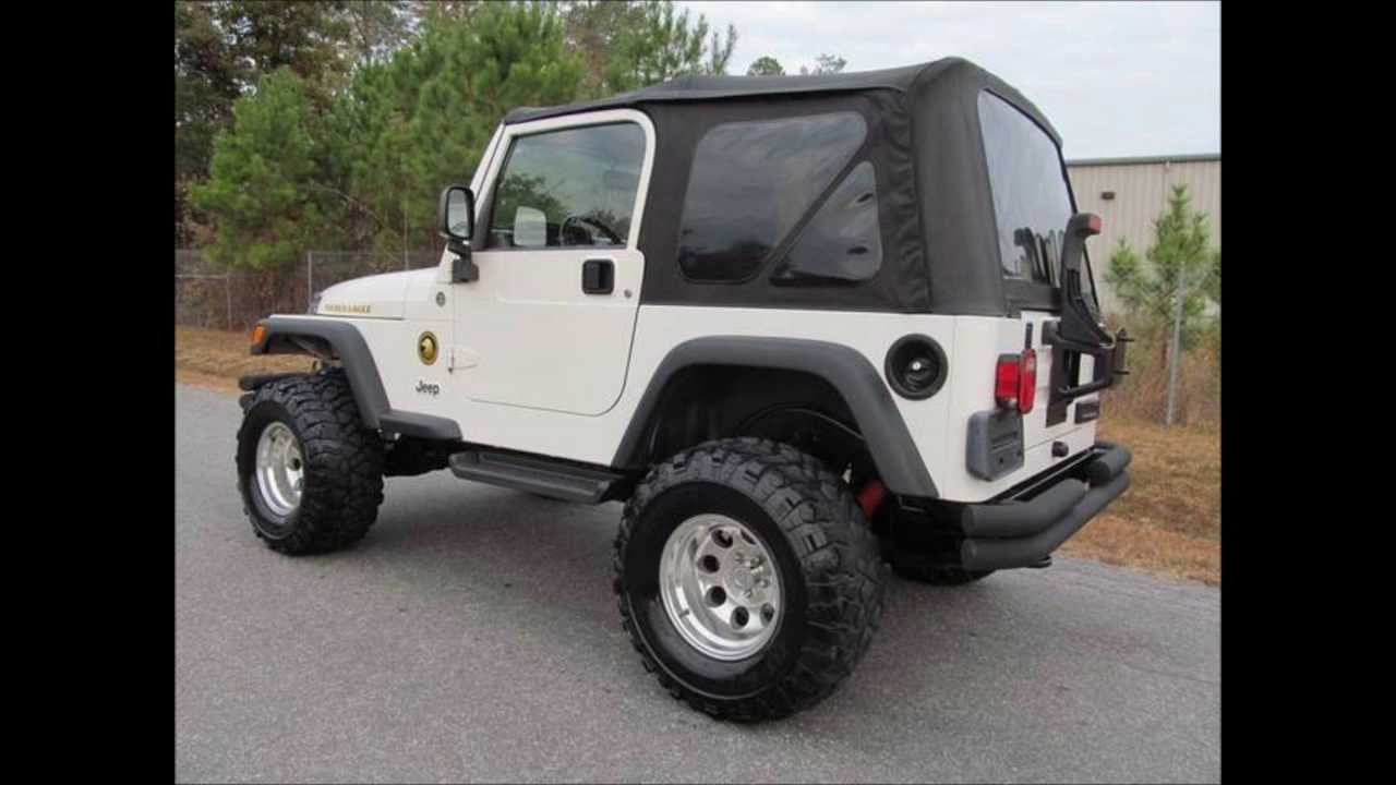2006 jeep wrangler sport golden eagle lifted jeep