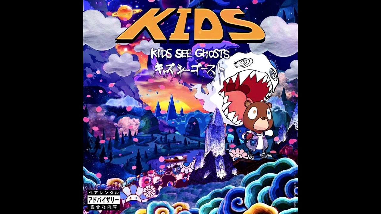 Kid Cudi Kanye West Kids See Ghosts Instrumental Hq