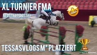 XL FMA Neustadt (Dosse)/ TessasVlogs reitet M*- S* PACOURS & PLATZIERT🤩🥈 !|Teil 3