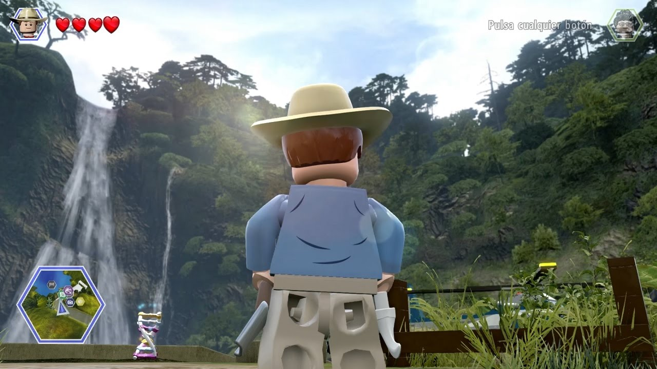 Lego Jurassic World Regresan Los Dinosaurios Youtube
