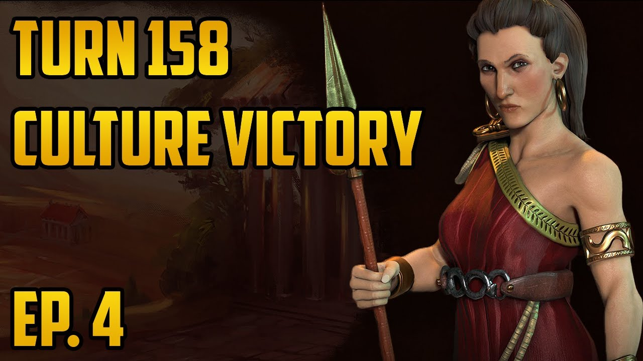 Ep  4 Turn 158 Culture Victory - Civ 6 Gathering Storm Let's Play