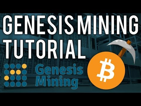 Genesis mining Tutorial – How to mine cryptocurrency and earn profit