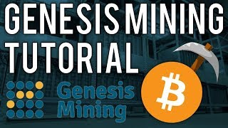 Genesis mining Tutorial - How to mine cryptocurrency and earn profit