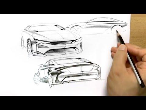 [001] car design sketch 2017.03.05