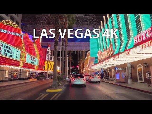 Las Vegas 4K - Midnight Drive