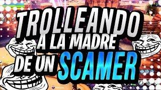 TROLLEANDO A LA MADRE DE UN SCAMMER (NO FAKE) | Fortnite Salvar Al Mundo