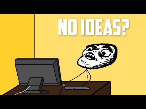When a Youtuber has no ideas