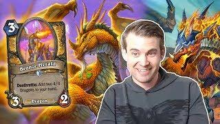 (Hearthstone) Dragon Paladin VS Lackey Rogue