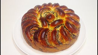 ПИРОГ МАКОВО-ОРЕХОВЫЙ (poppy - nut  pie)