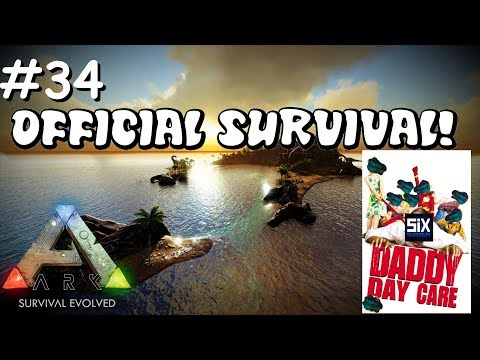 DADDY DAY CARE/STEALTH PVP!   Small Tribe Survival - Official Server! Ep. 34 - Ark: Survival Evolved