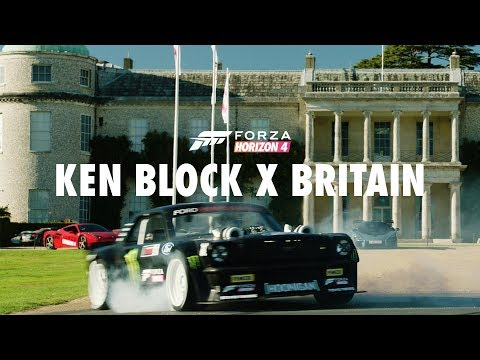Ken Block Drifts At Goodwood To Celebrate Forza Horizon 4 Launch