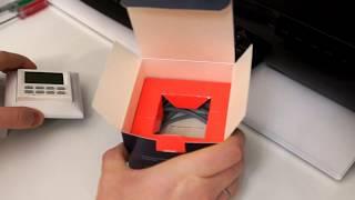 Распаковка программируемого терморегулятора NLC-527H