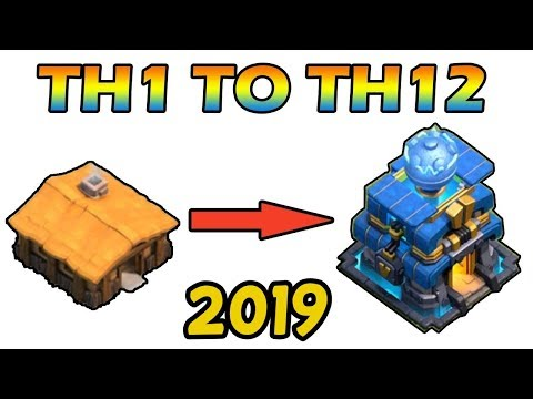 New COC TH1 To TH12 Max Within 30 Minutes 2019