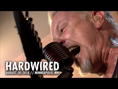 "Metallica: live video with ""Hardwired"" performance and upcoming album trailer"