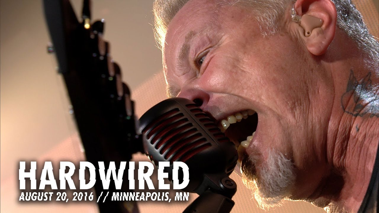Image result for metallica hardwired