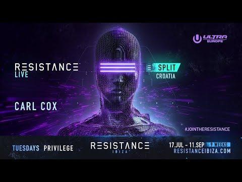 Carl Cox DJ set @ Ultra Croatia: Resistance 2018 - Day 2 (BE-AT.TV)