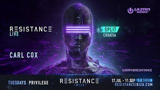 Carl Cox DJ set @ Ultra Croatia: Resistance 2018 - Day 2