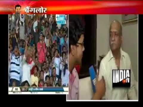 India TV interviews Rohit Sharma's parents