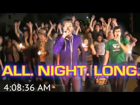 Karaoke Stunt - Singing All Night Long