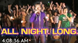 Karaoke Stunt - Singing All Night Long