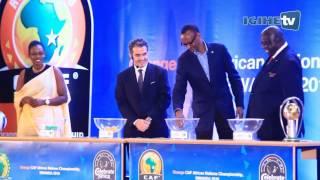 Draw Ceremony of the African Nations Championship Rwanda CHAN 2016 - Rwanda
