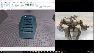 How to Build Mechs, Guns, and Tanks in Roblox Studio 2016 Part 1