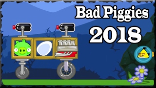 bad piggies 2018 flight in the night levels 13 to 24 levels