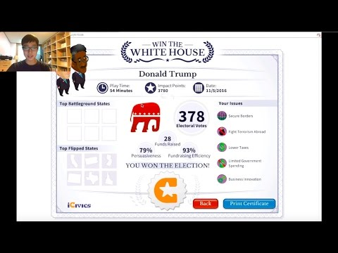 RUNNING FOR PRESIDENT?! | Win The White House