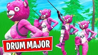 WE DID THE DRUM MAJOR ALL GAME ... (Fortnite)