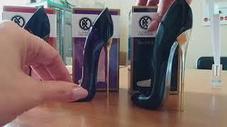 Обзор парфюмерных вод от Unice туфельки.