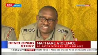 Police Commander-Japheth Koome calls for peaceful relationship between Landlords and tenants