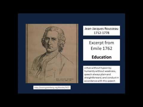 Emile by Rousseau 1762 excerpt