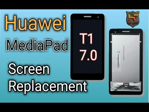huawei mediapad t1 7.0 screen replace, step by step, T1 8.0 pro