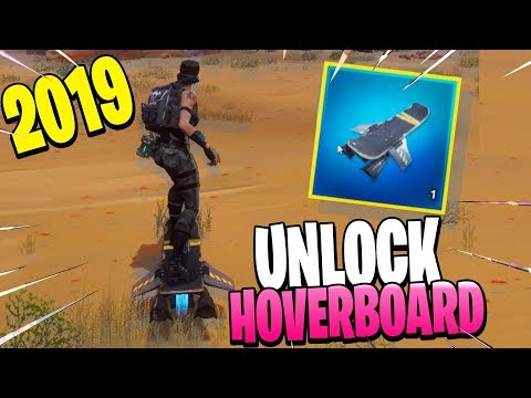 How To UNLOCK The HoverBoard In Fortnite Save The World