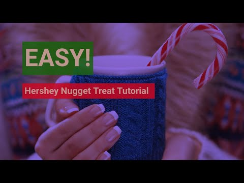 QUICK Hershey Nugget Treat Holder Craft Fair Ideas - PRICE POINTS for your Efforts! Auntie Jo Sews