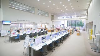 フロア案内(都立中央図書館バーチャルナビ2)