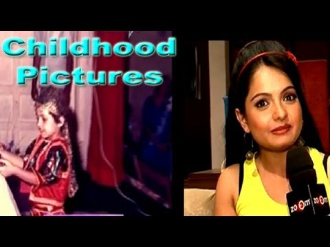 Giaa Manek shows her childhood pictures