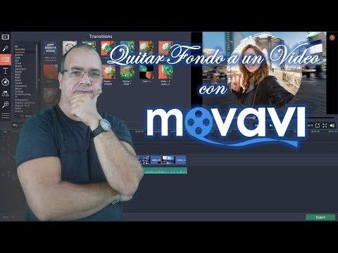 🎬🎬 Como Quitar El Fondo A Un Video Con MOVAVI