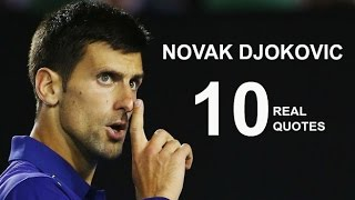 Novak Djokovic 10 Real Life Quotes on Success | Inspiring | Motivational Quotes
