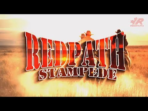 Redpath Stampede 2018 with Larry Berrio