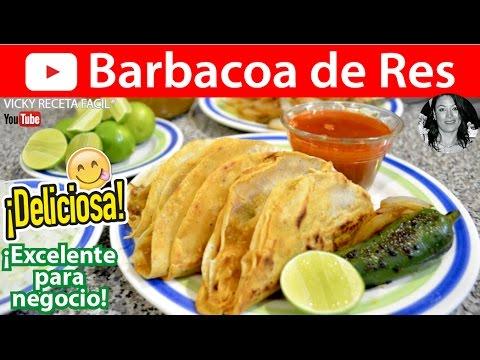 Barbacoa de res vicky receta facil youtube for Ingredientes para preparar barbacoa