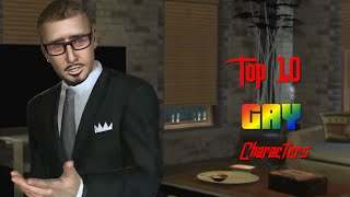 Top 10 Gay Characters in Video Games