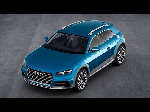 2014 Audi Allroad Shooting Brake Concept Interior and Exterior