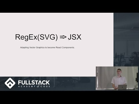Tech Talk: RegEx (SVG) & JSX: Adapting Vector Graphics for React