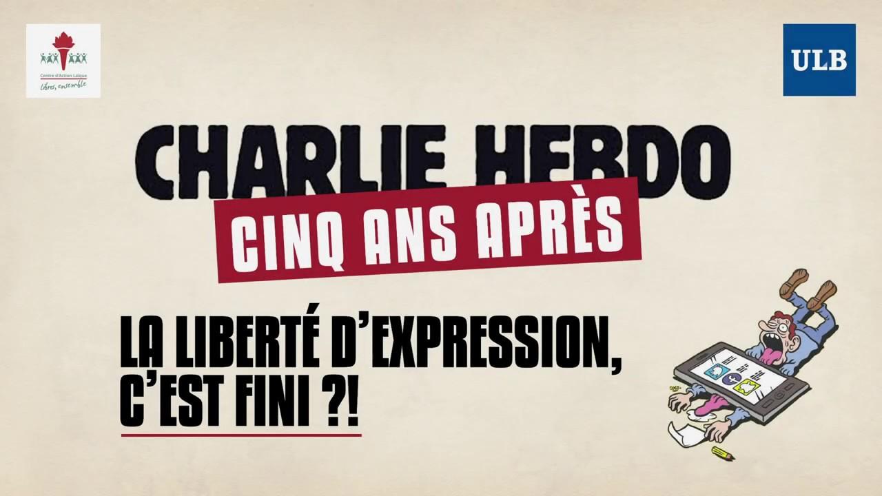 """Conférence Charlie Hebdo : """"La liberté d'expression c'est fini ?"""""""