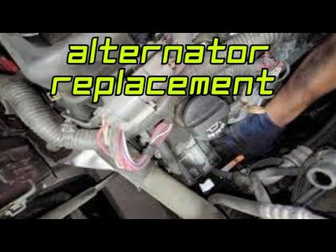buick enclave alternator replacement