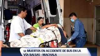 12 PERSONAS FALLECIDAS EN UN NUEVO ACCIDENTE DE TRÁNSITO