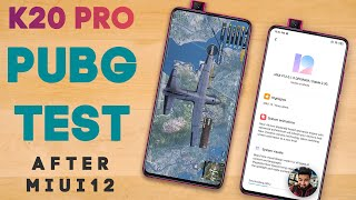 Redmi K20 PRO PUBG Test After MIUI 12 Stable Update - Heating Test, Battery Drain Test🔥🔥