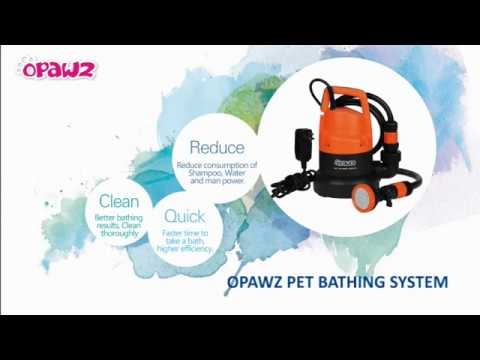OPAWZ Pet Bathing System - New Design for Your Grooming